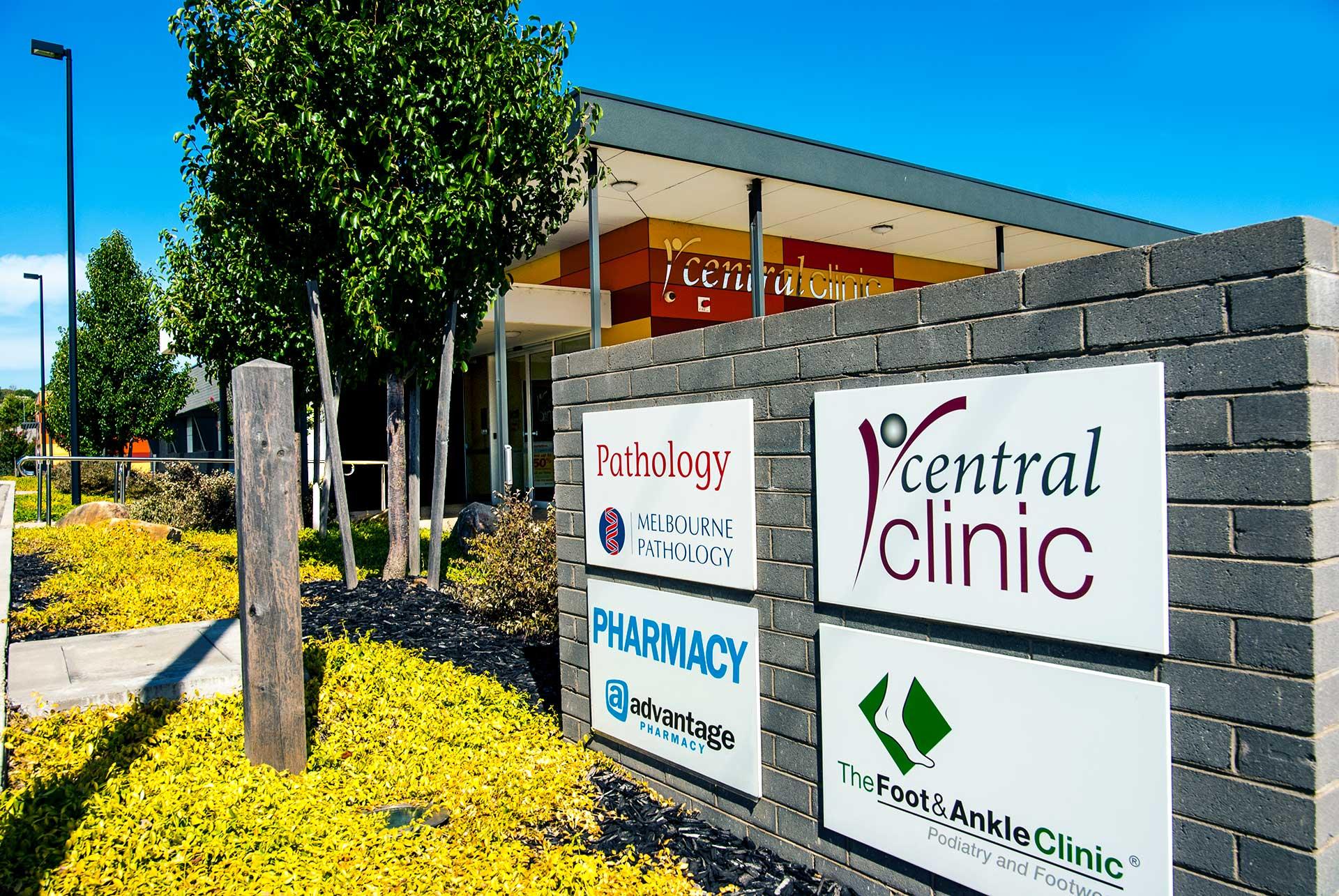 Central Clinic Warragul Entrance