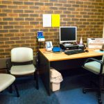 Doctor's consultation room at Central Clinic Drouin