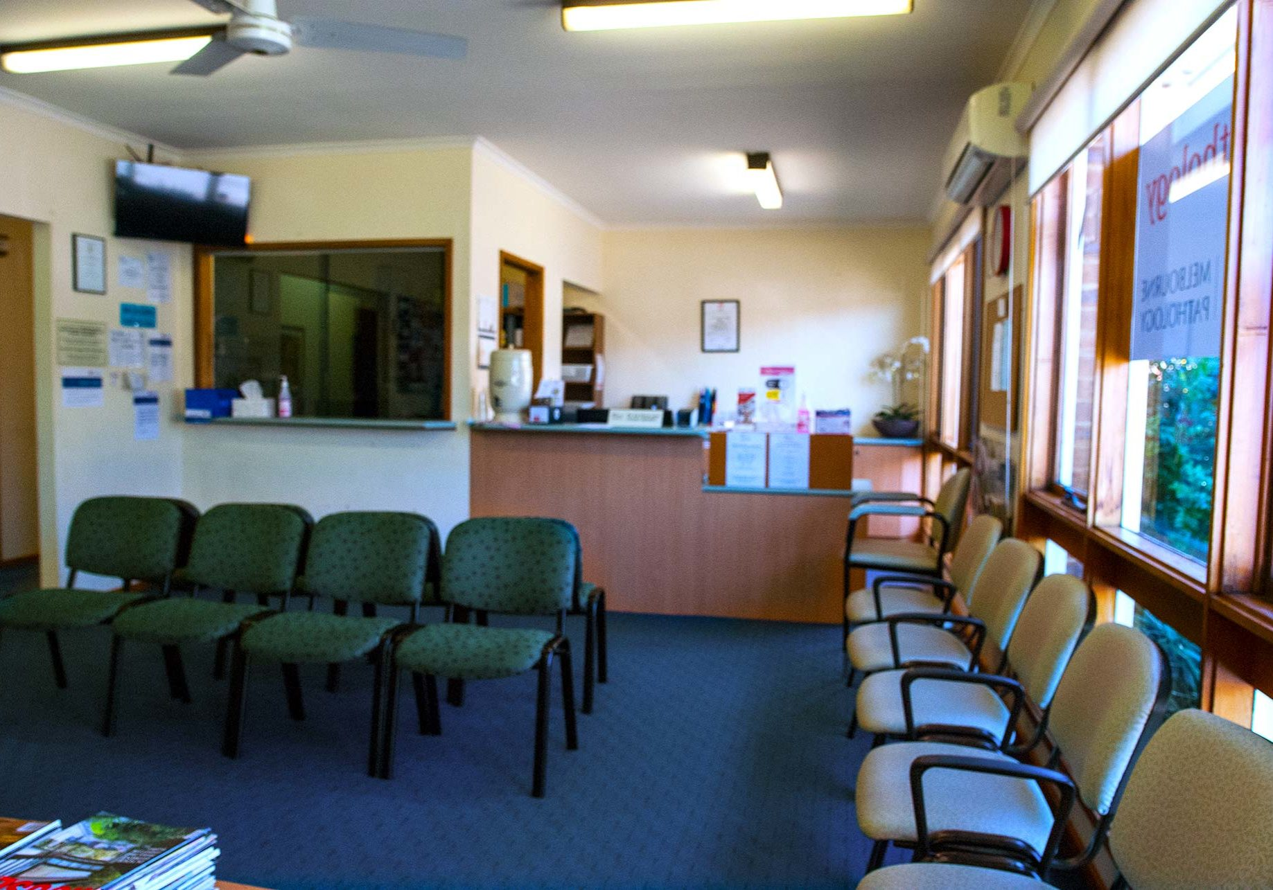 Waiting Room at Central Clinic Drouin